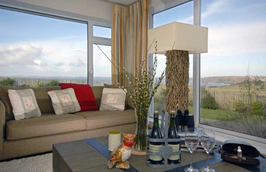 Holiday cottage Pembrokeshire with sea views
