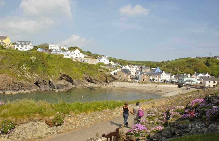 Little Haven - a quaint old fishing village full of charm and character with a tea room, bistro, gallery and choice of 3 excellent pubs