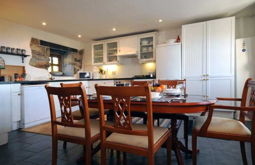 Luxury cottage North Wales - open plan