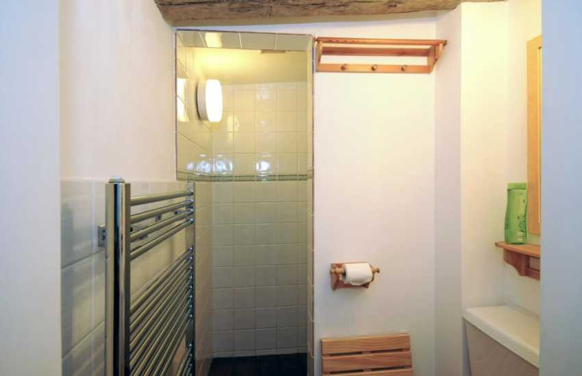 North Wales holiday cottage - shower room