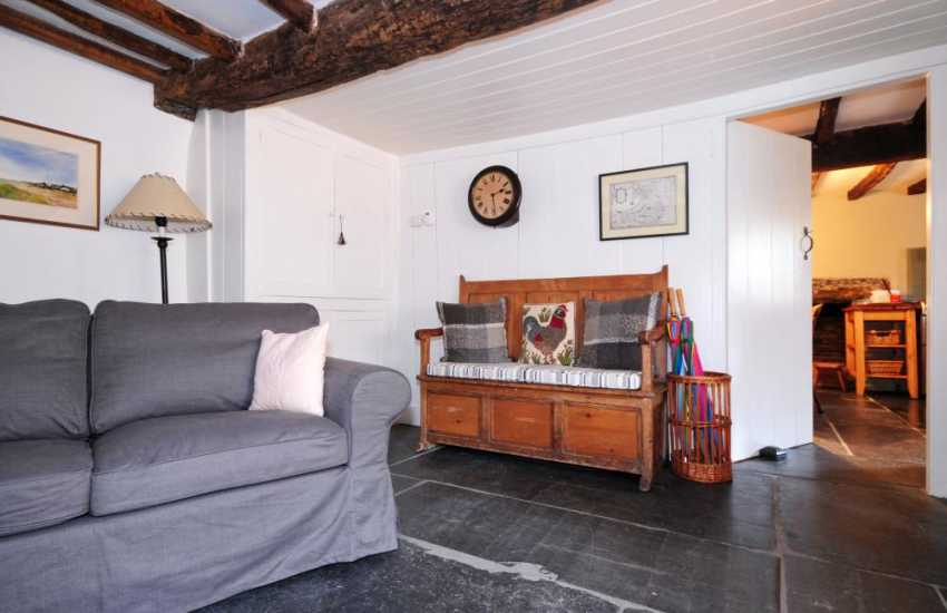 North Wales cottage with log burner - lounge