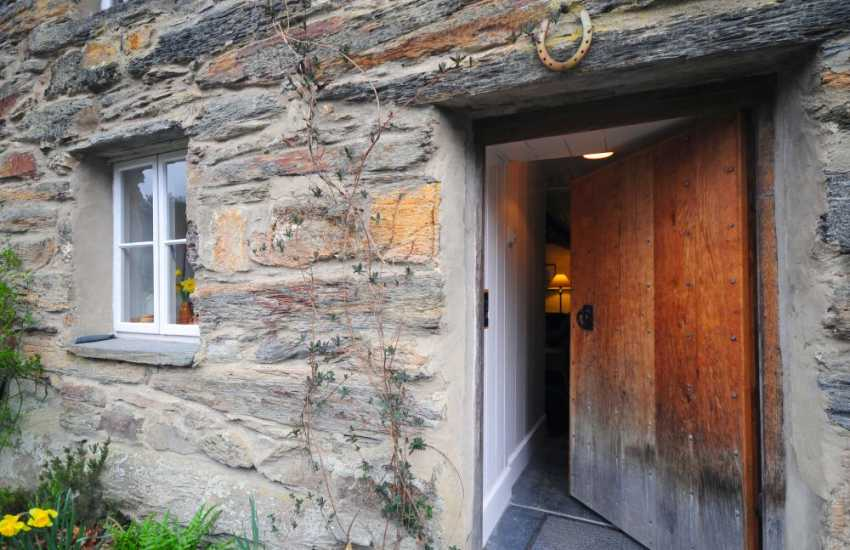 Maentwrog holiday cottage - door