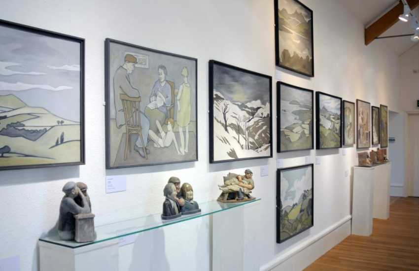 Be inspired at North Wales Art galleries
