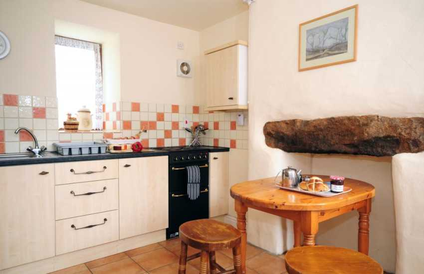Cader Iris holiday cottage - kitchen