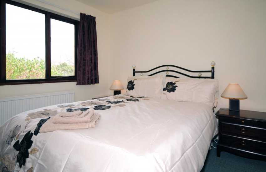 Bedroom at holiday home sleeps 6 near Barmouth