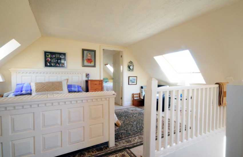 Double bedroom in annex with shared bathroom