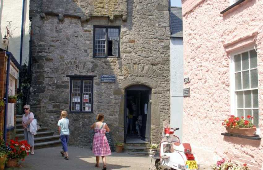 Tudor Merchant's House (National Trust), Tenby - step back in time and the experience the life of a sea merchant long ago