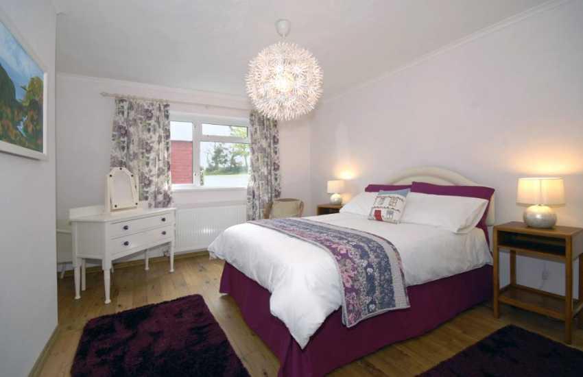 St Davids holiday cottage - master bedroom