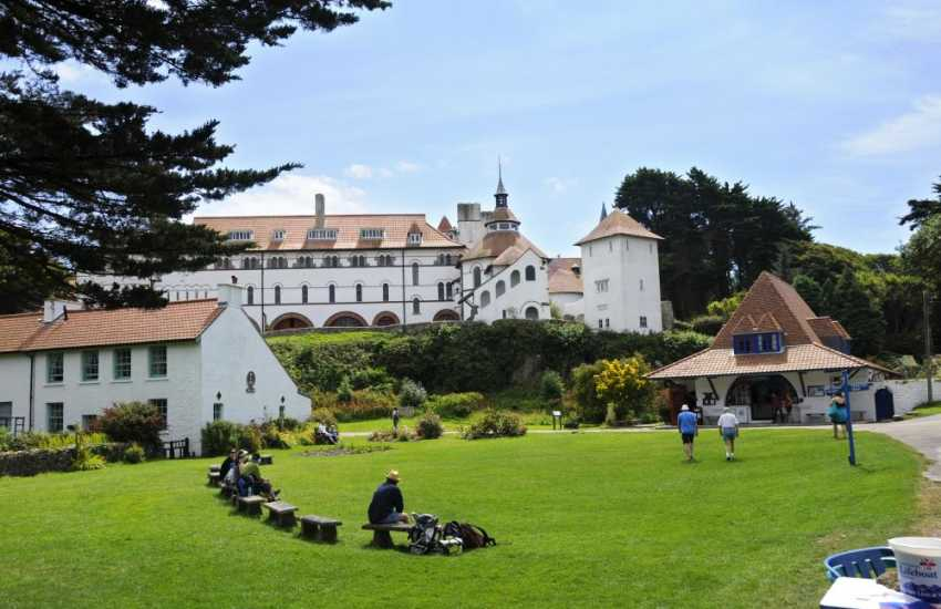 Do visit Caldey Island with its Cistercian Monastery overlooking the village green. Try the famous chocolate made by the monks and enjoy the unique atmosphere of timelessness and peace