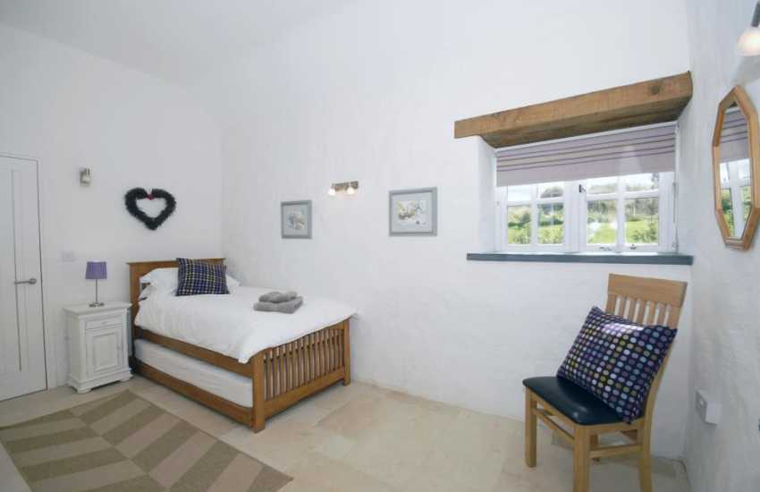 Cottage on the Pembrokeshire Coast - single with additional 3ft 'truckle' pull-out bed