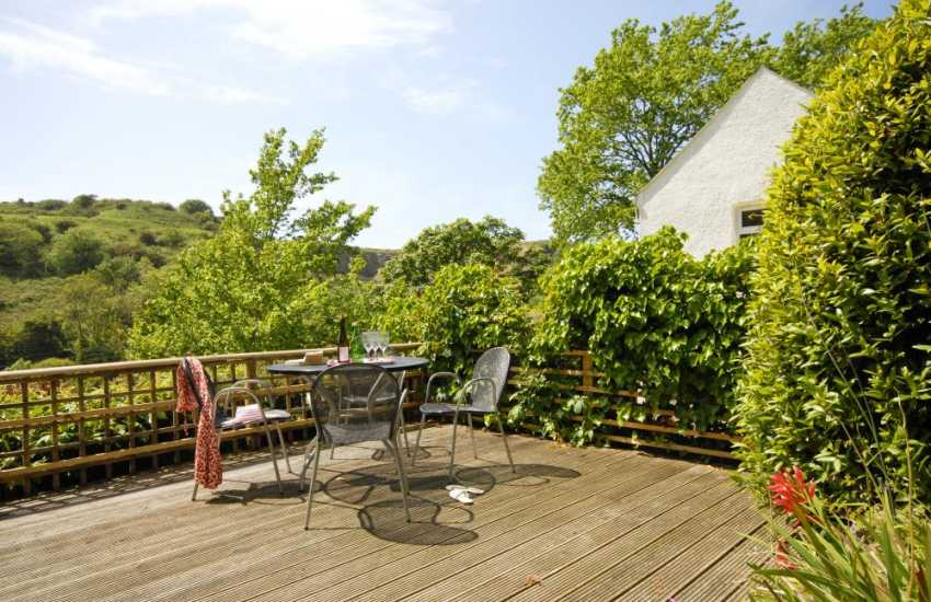 Lovely rural views over the wooded slopes of the Solva River Valley