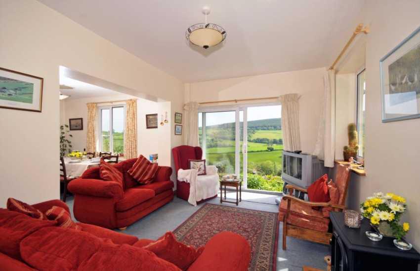 Presteigne holiday cottage - lounge