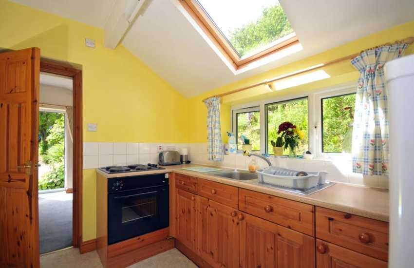 Holiday cottage welsh borders - kitchen