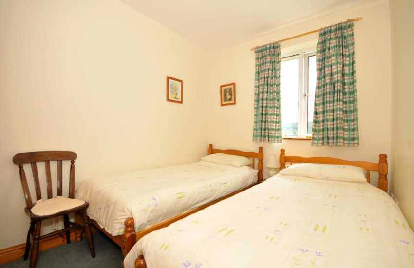 Welsh borders holiday cottage Wales - bedroom