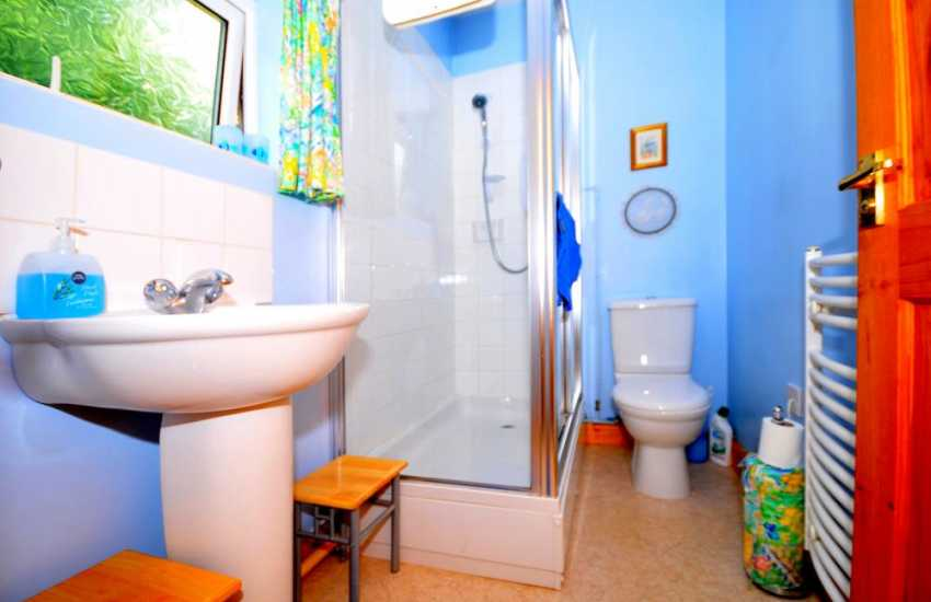 Presteigne holiday cottage - bathroom