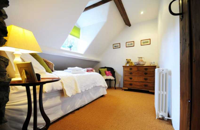 Single bedroom in Snowdonia holiday cottage