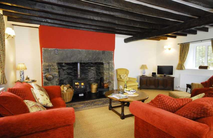 Luxury Snowdonia holiday house Bala - lounge