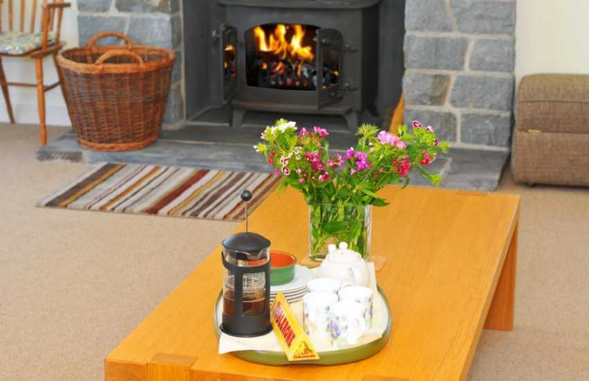 Holiday cottage Harlech - lounge