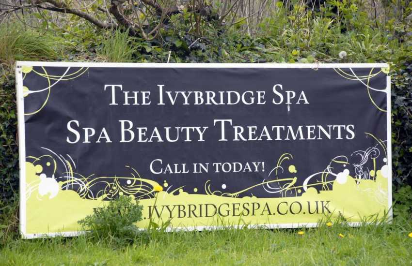 Pamper yourself with a relaxing body treatment at The Ivybridge Spa in Goodwick just a short drive away