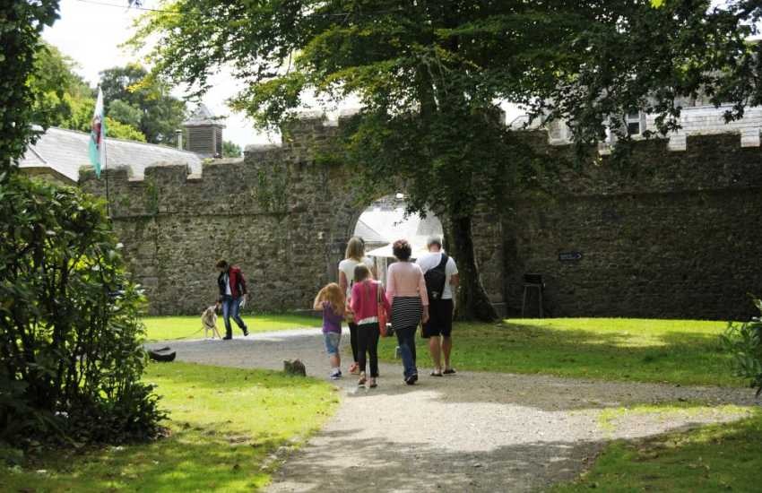 Picton Castle - explore the surrounding woodlands, enjoy Guided tours, art and craft exhibitions, and afternoon tea in the Courtyard Restaurant
