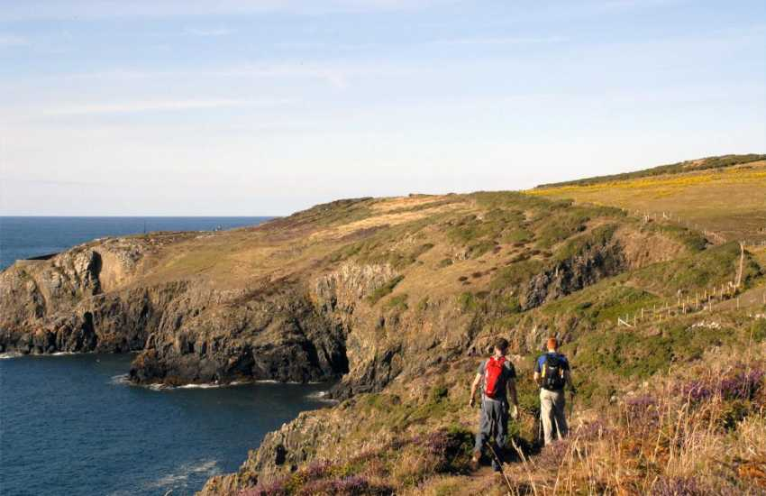 The Pembrokeshire Coast Path offers wonderful cliff-top walking