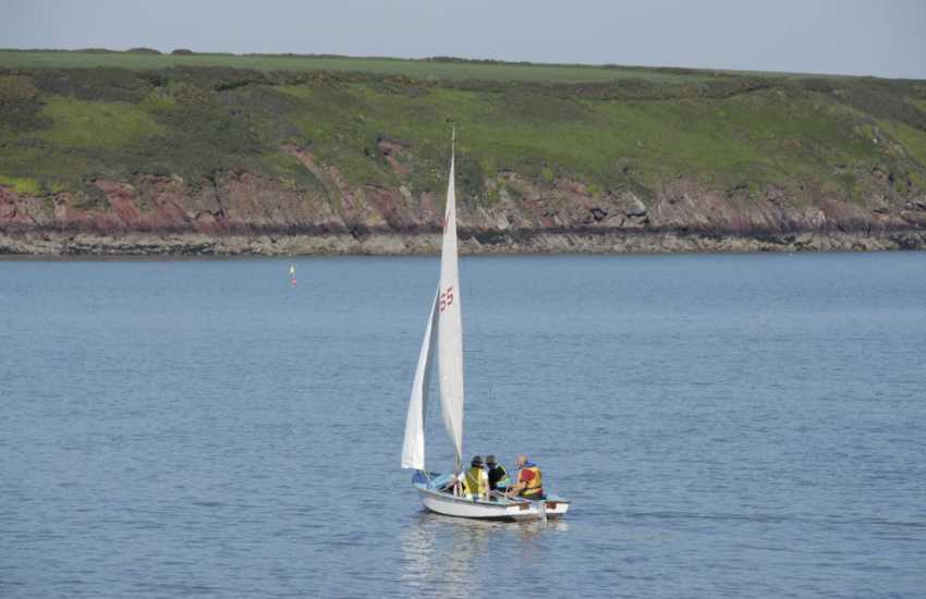 'Dale Sailing and Water Sports' offer tuition from beginner to expert all year round