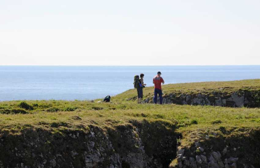 Stunning Pembrokeshire Coast Path walks nearby - surrounded by natural beauty throughout the year