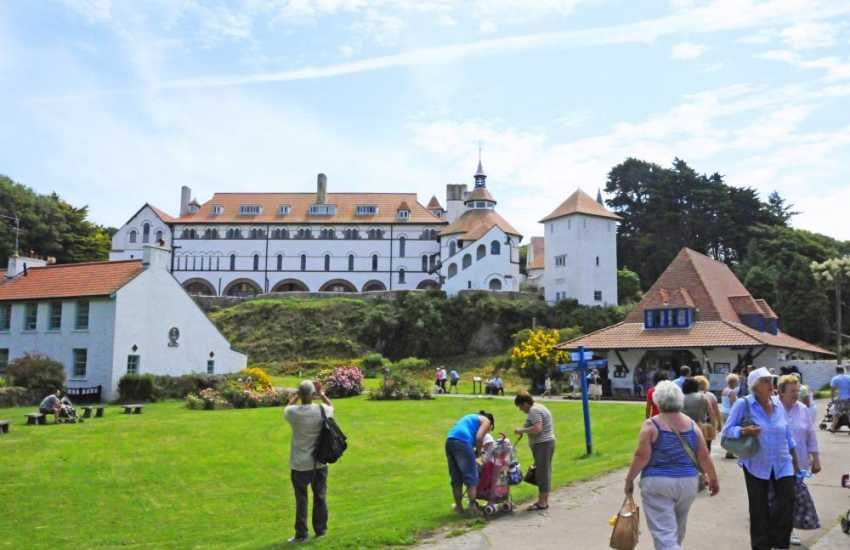 Do take the short boat ride from Tenby Harbour to visit Caldey Island, home to Cistercian monks for over a thousand years