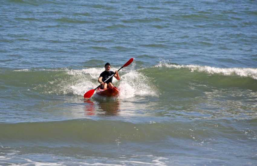 Explore the Gower coast by sea kayak - great fun for all