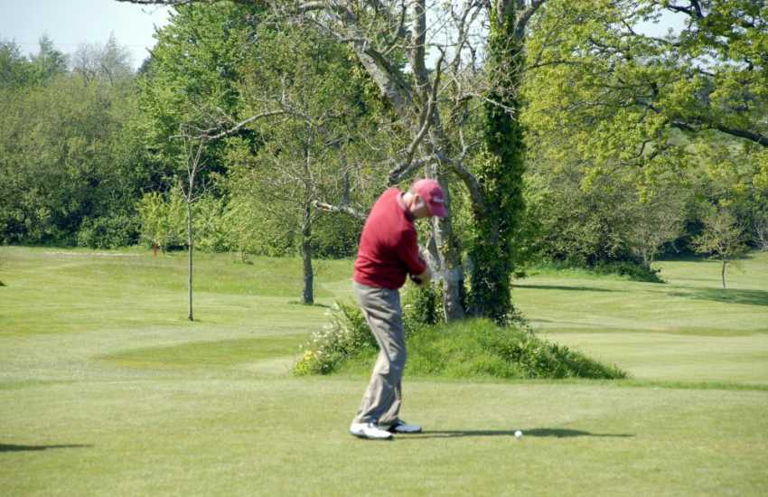 Glyn Abbey Golf Club - a challenging parkland 18 hole course with newly opened 9 hole beginners course. The club house and fitness suite are open to non residents