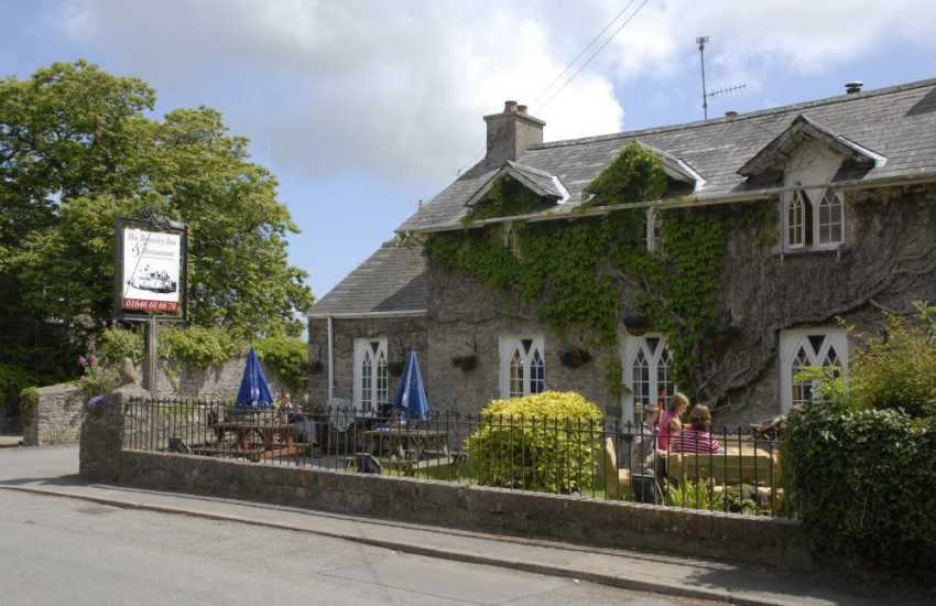 The Brewery Inn, Cosheston - a warm welcome awaits at this traditional cosy pub serving superb fresh food and real ales