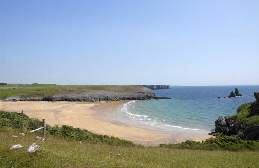 Broad Haven South (N.T.) - pack a picnic and enjoy a day out at this beautiful sandy bay.