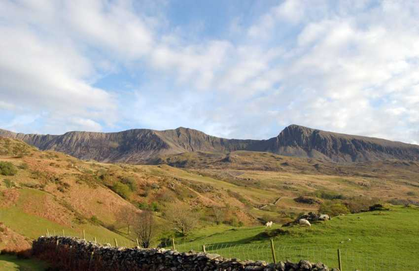 Located in the southern end of Snowdonia National Park, Cadair Idris, 'the chair of Idris', is one of Wales' most popular mountains