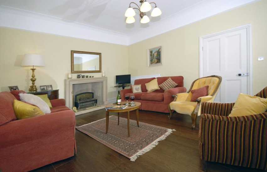 Pembrokeshire farmhouse for holidays near the Secret Waterway - sitting room