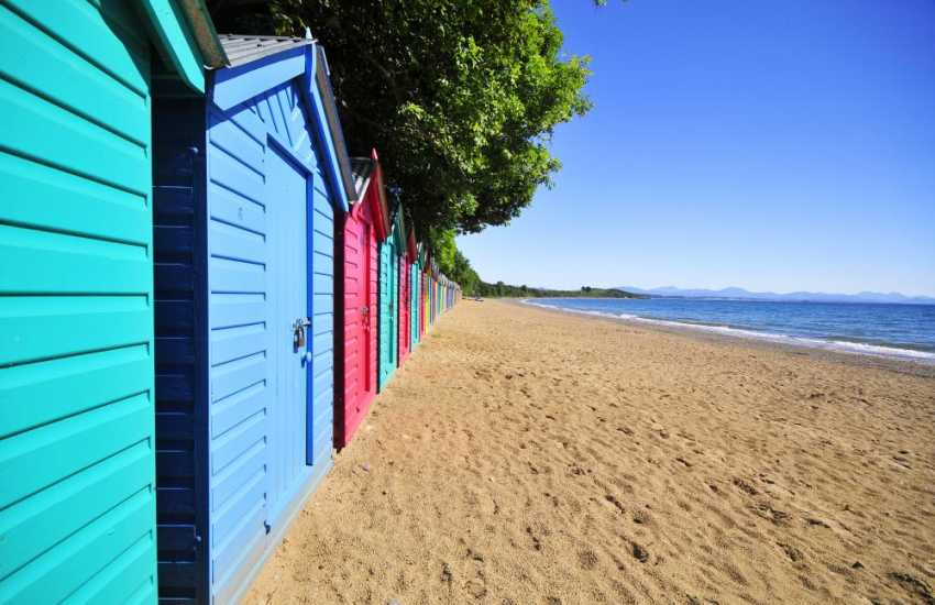 Llanbedrog beach- take a stroll along the shores and take in the vast expanse of ocean