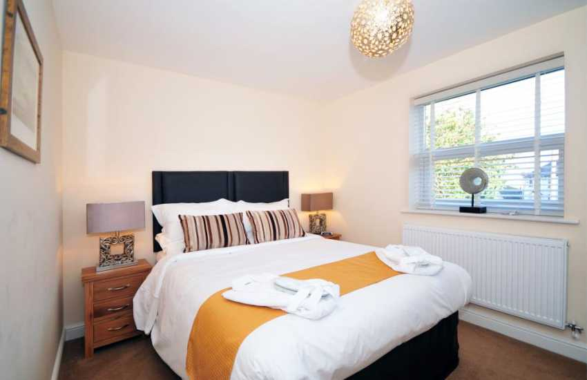 Welsh holiday cottage Conwy - double bedroom