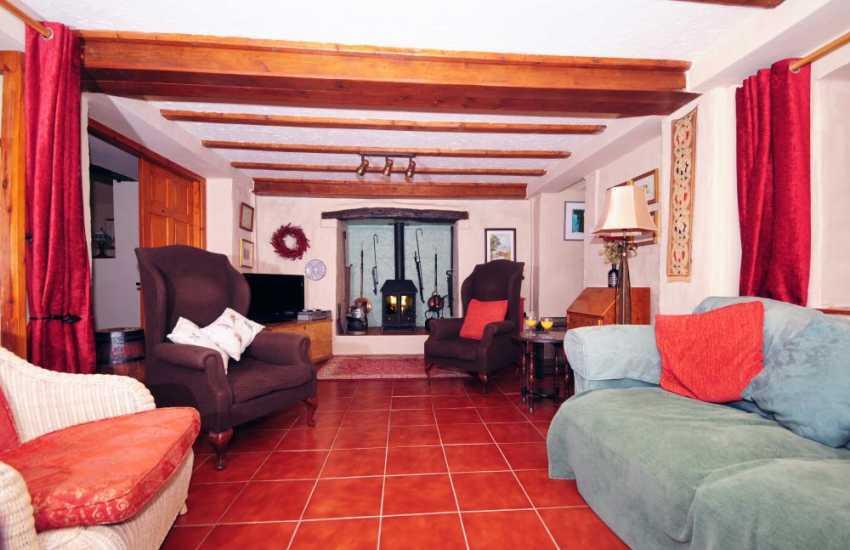 Cottage on the Welsh coast - lounge