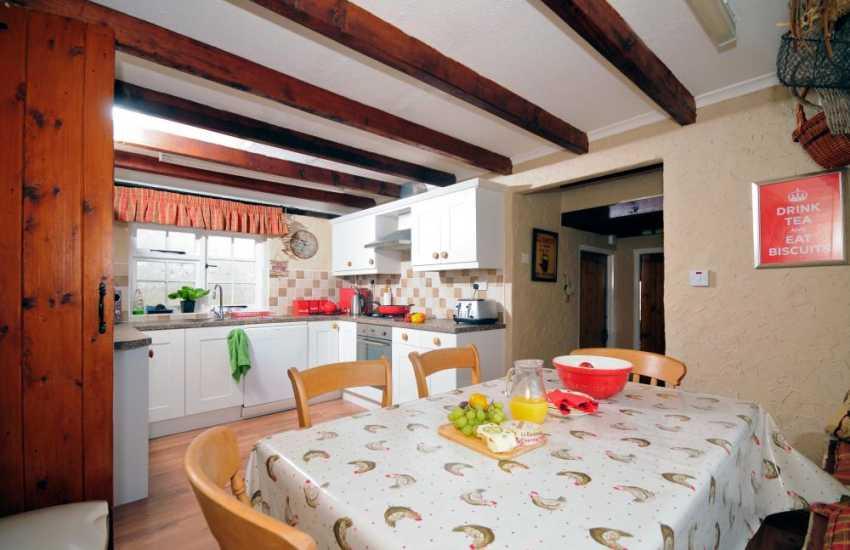 Best coastal cottage in Wales - kitchen
