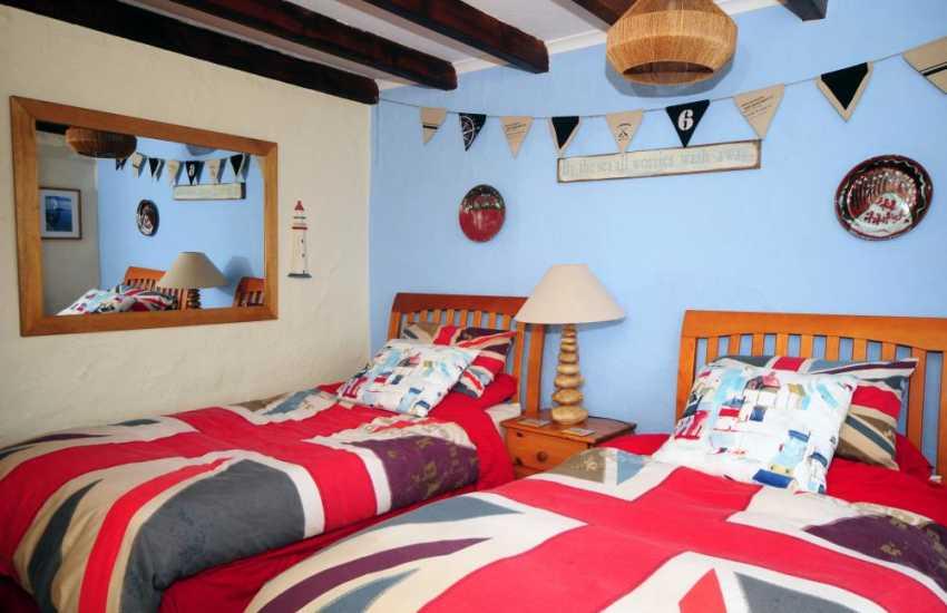 Holiday on the Lleyn Peninsula - bedroom