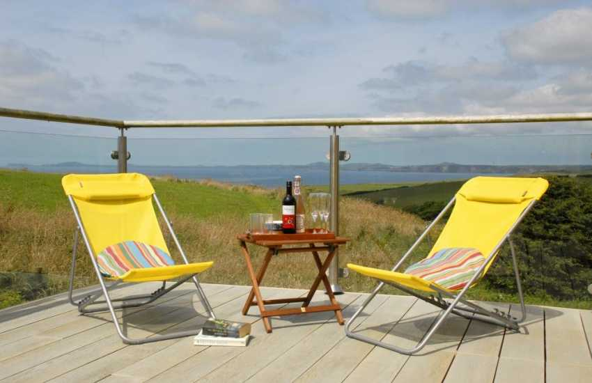 Pembrokeshire holiday cottage with stunning sea views