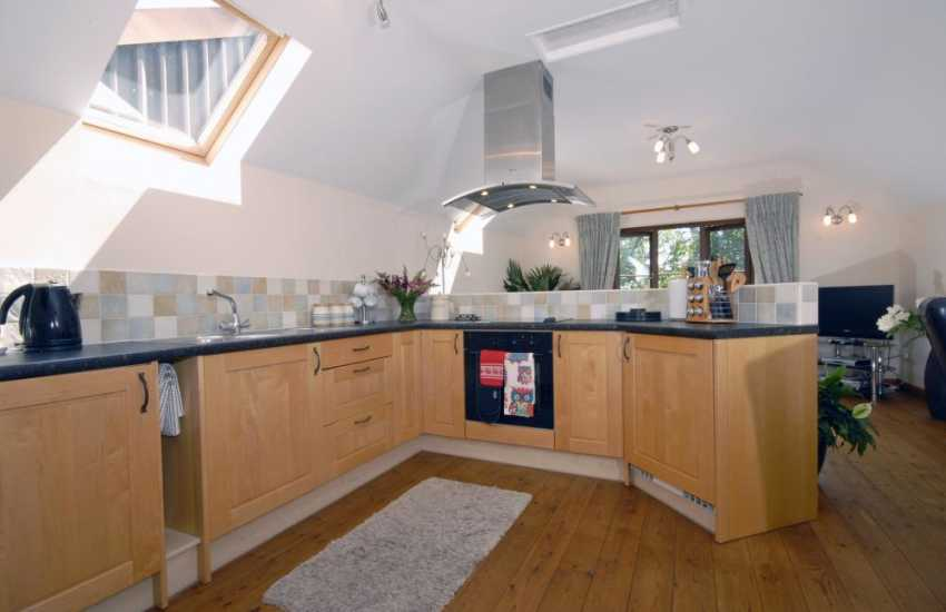 Self-catering holiday cottage near Broad Haven - modern kitchen