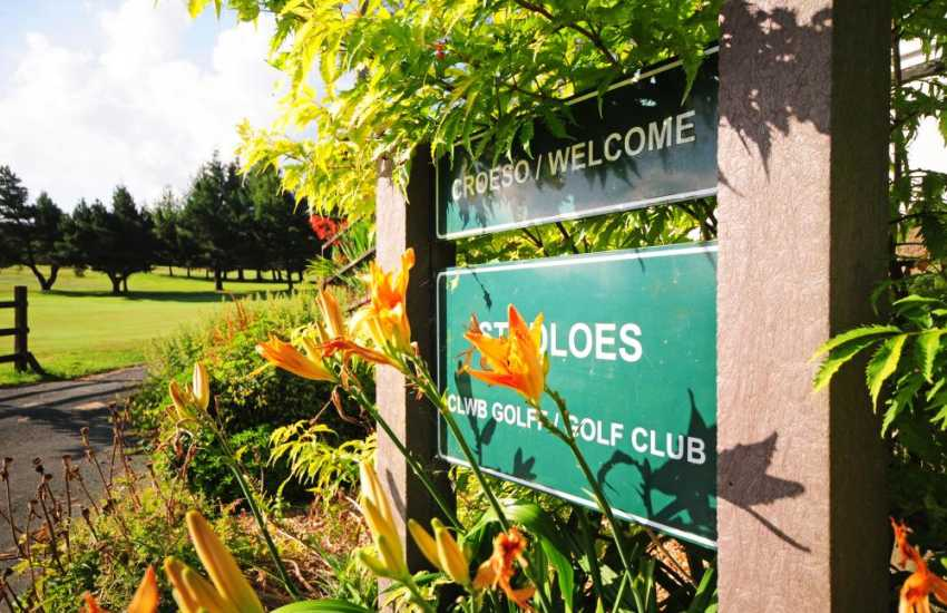 St Idloes Golf course, Llanidloes