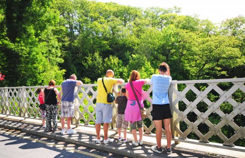 Devils bridge walks and waterfalls