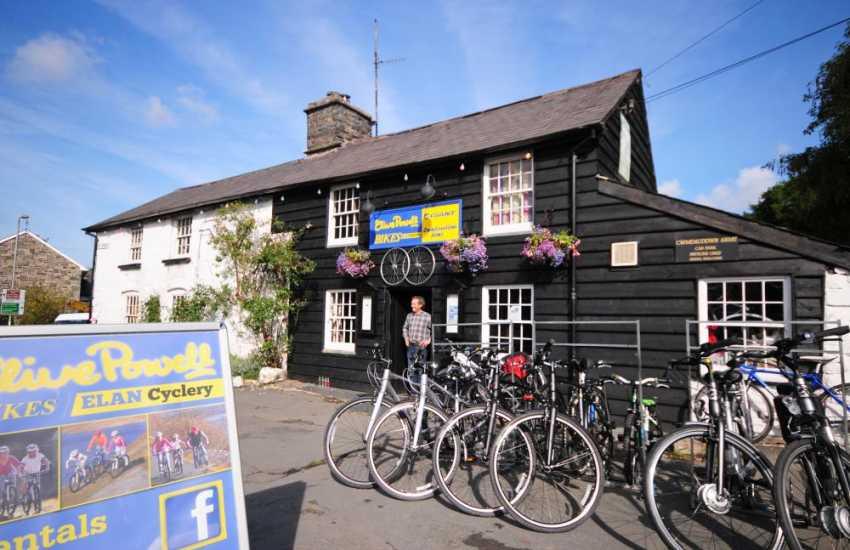 Cycle Hire mid Wales at Rhayader