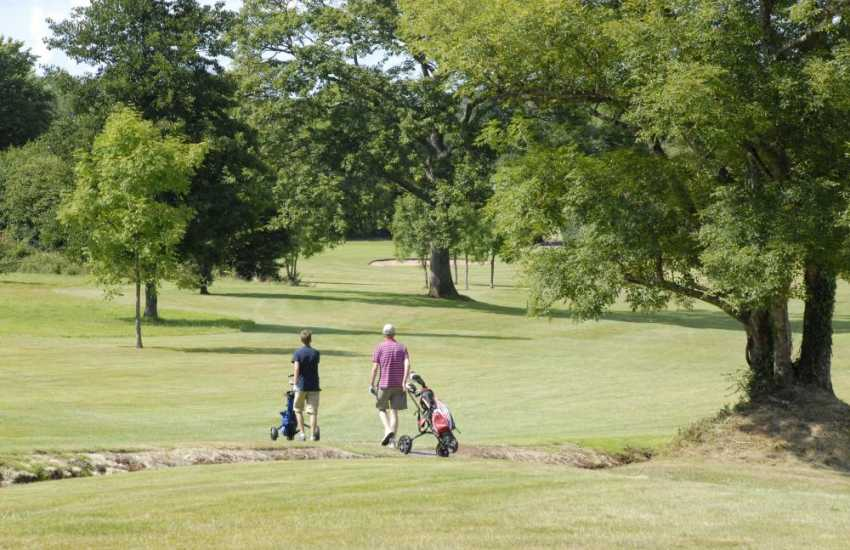 Pembrokeshire has a variety of golf courses to choose from - Whitesands, Priskilly and Haverfordwest are all within an easy drive