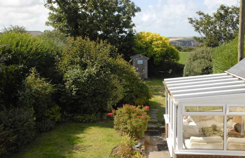 Pembrokeshire National Park holiday cottage - private garden