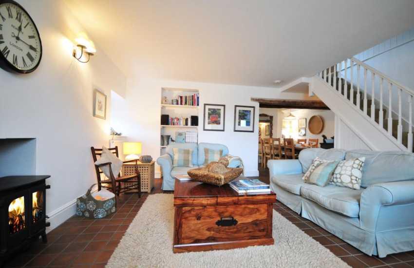 Luxury holiday cottage Morfa Nefyn - lounge
