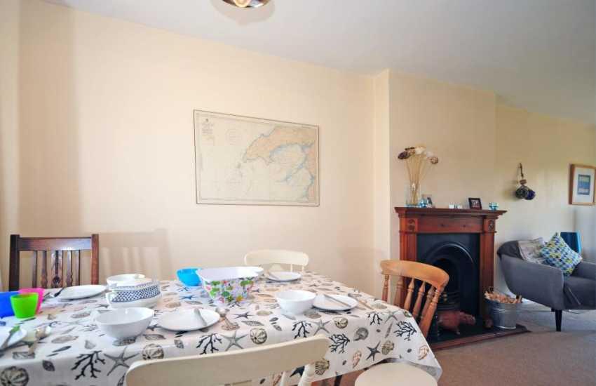 Holiday bungalow Morfa Nefyn - lounge/dining