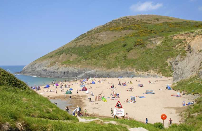 Mwnt Beach - 'Jewel in the crown' of the Cardigan Bay Heritage Coast