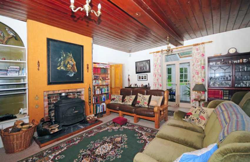 Pet friendly holiday cottage Wales - sitting room